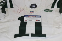 NFL - INTERNATIONAL SERIES - JETS JEREMY KERLEY GAME WORN JETS JERSEY (OCTOBER 4 2015)