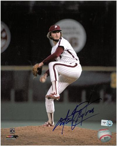 Photo of Marty Bystrom Autographed 8x10 Photo