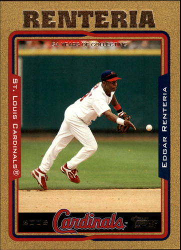 Photo of 2005 Topps Gold #156 Edgar Renteria