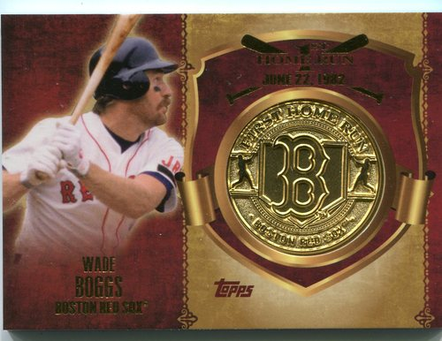 Photo of 2015 Topps Update First Home Run Medallions Wade Boggs