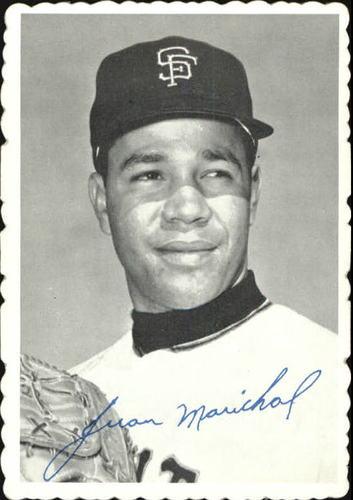Photo of 1969 Topps Deckle Edge #32 Juan Marichal
