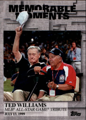 Photo of 2017 Topps Memorable Moments #MM37 Ted Williams