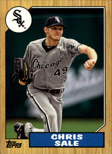 Photo of 2012 Topps 1987 Topps Minis #TM145 Chris Sale -- Red Sox post-season