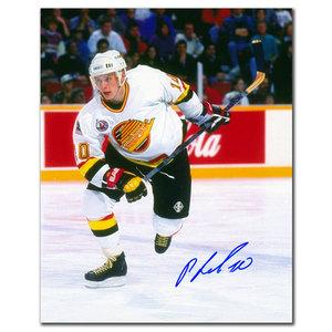 Pavel Bure Vancouver Canucks STANLEY CUP FINALS Autographed 8x10