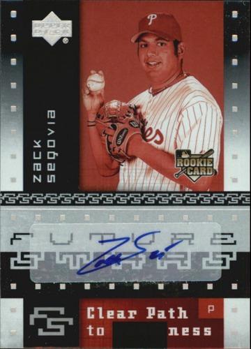 Photo of 2007 Upper Deck Future Stars #101 Zack Segovia AU (RC)