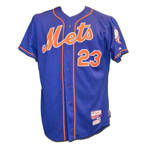 Photo of Michael Cuddyer #23 - Game Used Blue Alternate Home Jersey - Mets vs. Yankees - 9/18/15