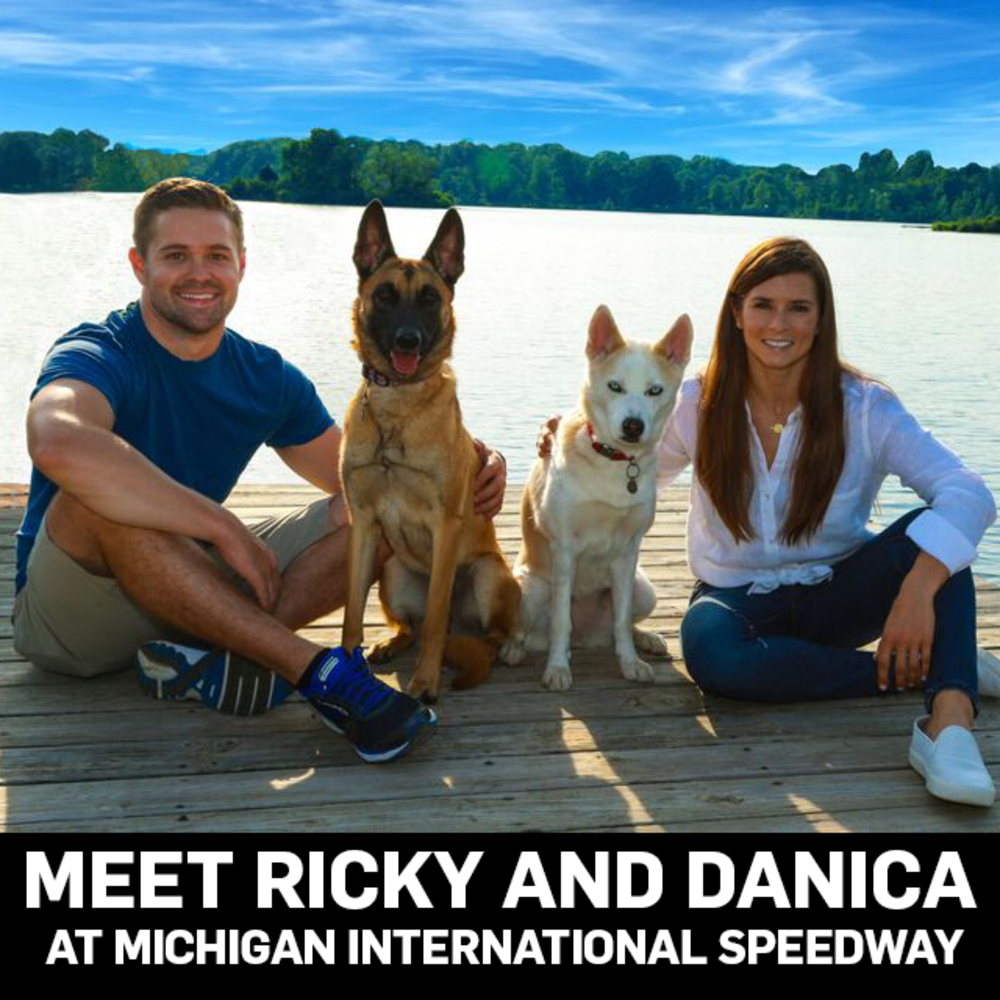 Meet & Greet with NASCAR Drivers Danica Patrick AND Ricky Stenhouse Jr. at Michigan International Speedway!!!!
