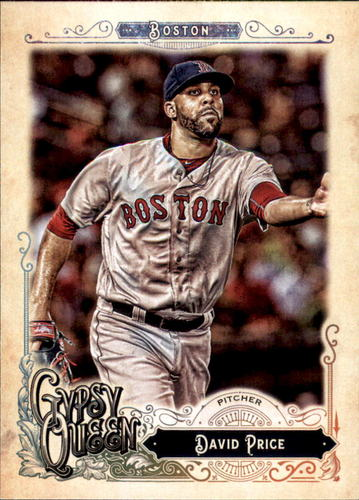 Photo of 2017 Topps Gypsy Queen #137 David Price