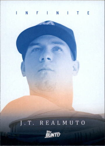 Photo of 2017 Topps Bunt Infinite #IJRE J.T. Realmuto
