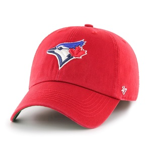 Toronto Blue Jays Youth Lofted Brush Cap Red by '47 Brand