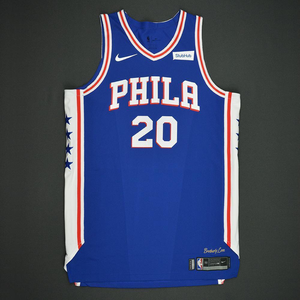 Markelle Fultz - Philadelphia 76ers - 2017 NBA Draft - Autographed Jersey