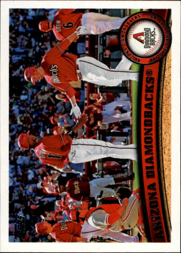 Photo of 2011 Topps #53 Arizona Diamondbacks TC