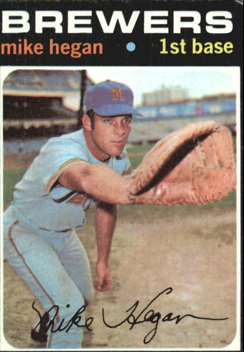 Photo of 1971 Topps #415 Mike Hegan