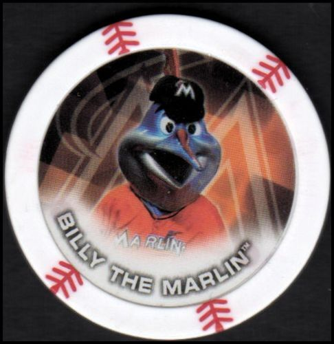 Photo of 2014 Topps Chipz Mascots #12 Billy the Marlin