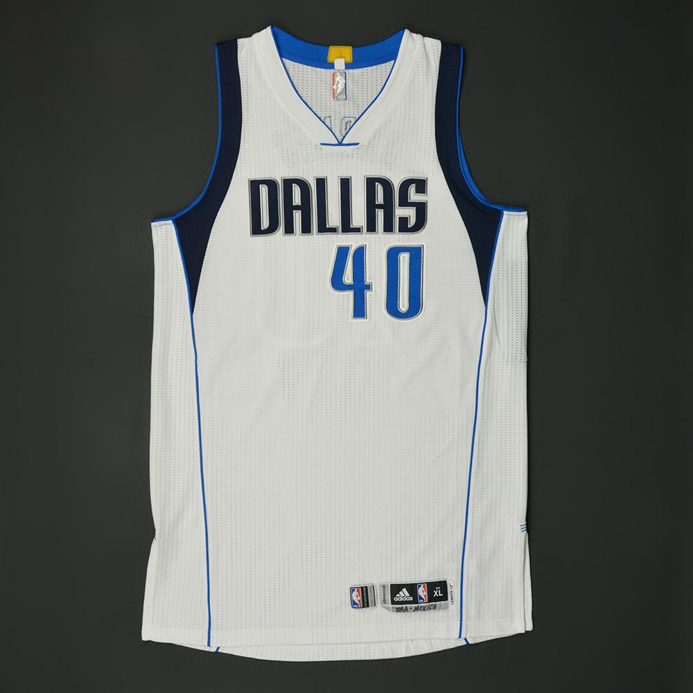Harrison Barnes - Dallas Mavericks - NBA Global Games 2017 Mexico City - Game-Worn Jersey