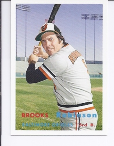 Photo of 2006 Topps Rookie of the Week #9 Brooks Robinson 57