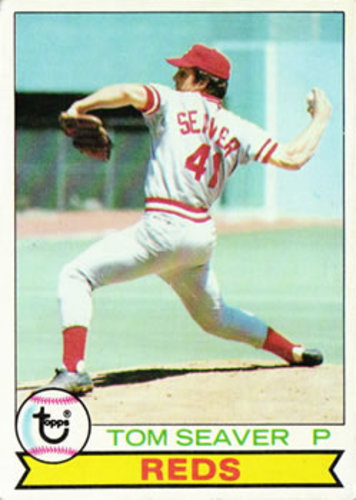 Photo of 1979 Topps #100 Tom Seaver -- Hall of Famer