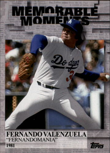 Photo of 2017 Topps Memorable Moments #MM39 Fernando Valenzuela