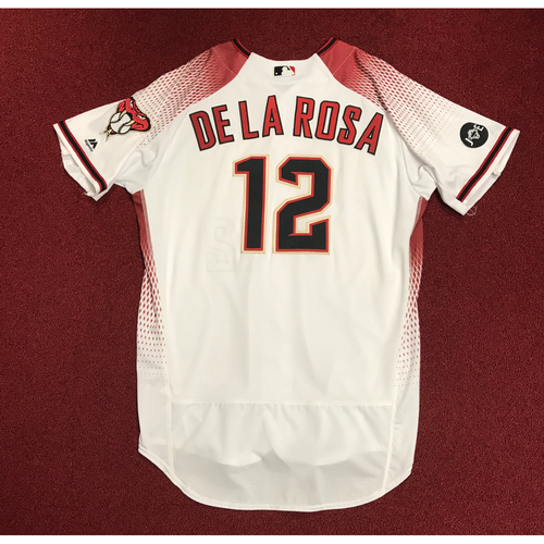 Photo of Rubby De La Rosa Team-Issued Home Jersey