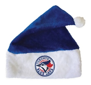 Toronto Blue Jays Santa Holiday Hat by The Sports Vault
