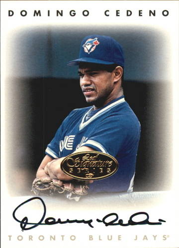 Photo of 1996 Leaf Signature Autographs Gold #42 Domingo Cedeno