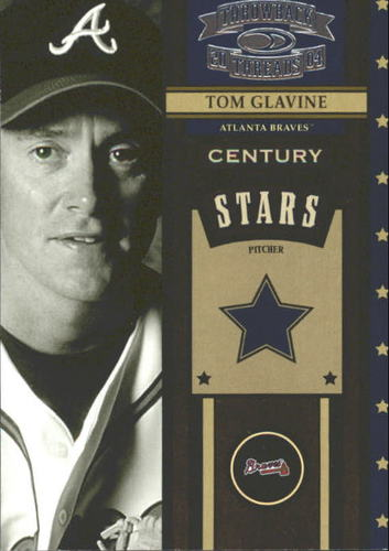 Photo of 2004 Throwback Threads Century Stars #56 Tom Glavine