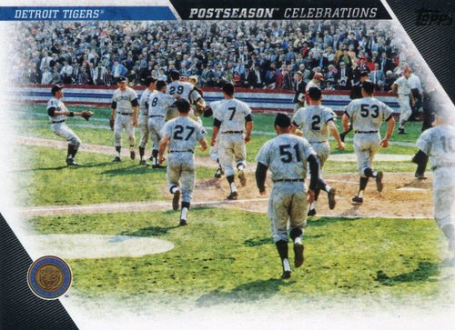 Photo of 2017 Topps Update Postseason Celebration #PC4 Detroit Tigers