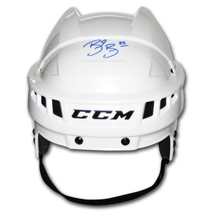Brent Burns Autographed CCM Hockey Helmet (San Jose Sharks)