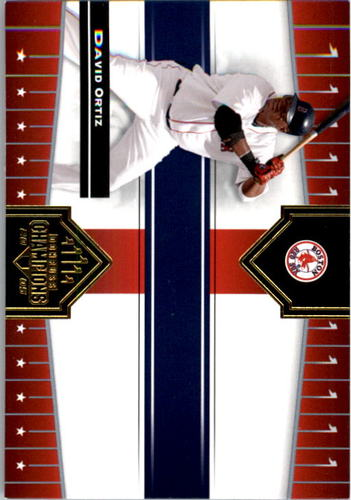 Photo of 2005 Donruss Champions #350 David Ortiz Sox