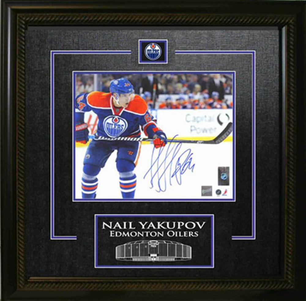 Nail Yakupov Signed 8