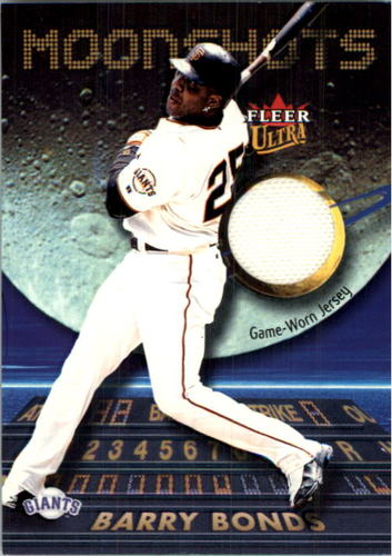 Photo of 2003 Ultra Moonshots Memorabilia #BB Barry Bonds Jsy