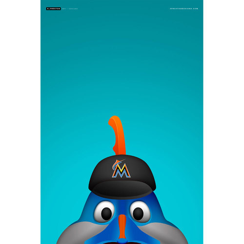 Photo of Minimalist Billy The Marlin Art Print (Limited Edition #15/350)