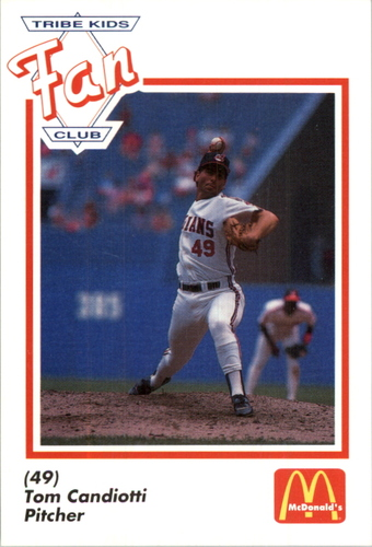 Photo of 1991 Indians Fan Club/McDonald's #6 Tom Candiotti