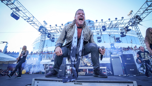 CHRIS JERICHO'S ROCK N WRESTLING RAGER AT SEA PART DEUX: SECOND WAVE