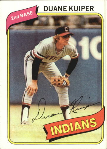 Photo of 1980 Topps #429 Duane Kuiper