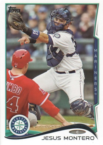 Photo of 2014 Topps #529 Jesus Montero