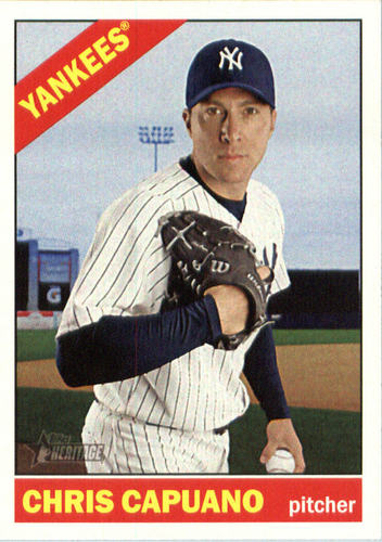 Photo of 2015 Topps Heritage #581 Chris Capuano
