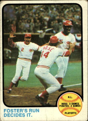 Photo of 1973 Topps #202 NL Playoff/George Foster