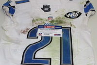 STS - LIONS AMEER ABDULLAH GAME WORN LIONS JERSEY (NOVEMBER 15 2015)