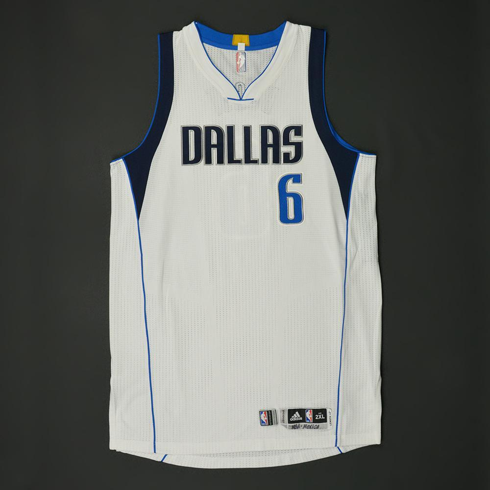 Andrew Bogut - Dallas Mavericks - NBA Global Games 2017 Mexico City - Game-Issued Jersey - Did Not Dress