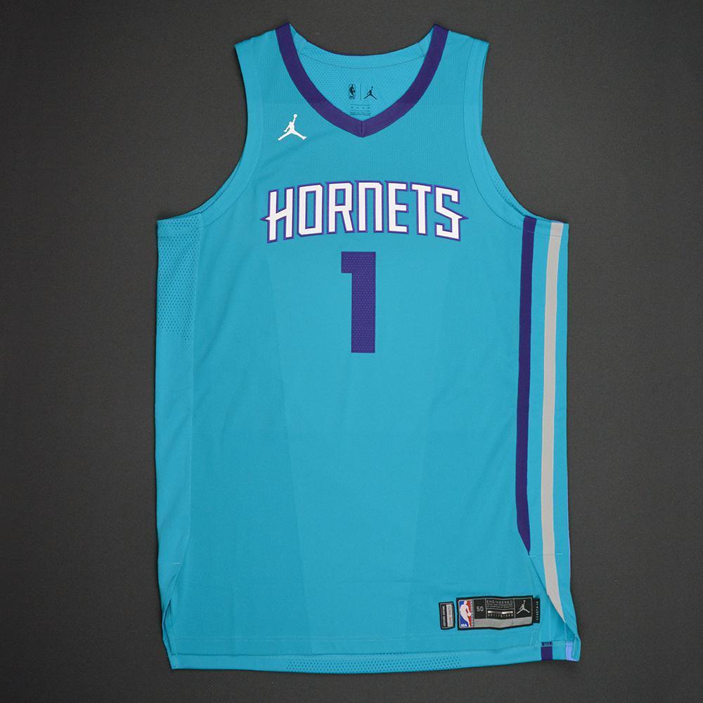 Malik Monk - Charlotte Hornets - 2017 NBA Draft - Autographed Jersey