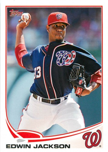 Photo of 2013 Topps #233 Edwin Jackson