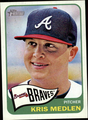 Photo of 2014 Topps Heritage #154 Kris Medlen