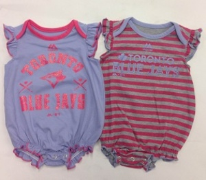 Newborn Team Sparkle 2 Piece Creeper Set by Majestic
