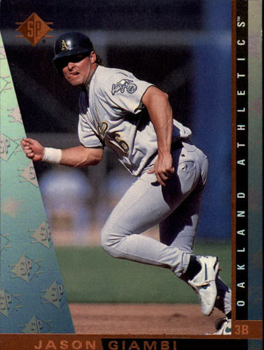 Photo of 1997 SP #133 Jason Giambi