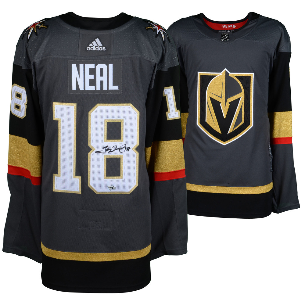 James Neal Vegas Golden Knights Autographed Black Adidas Authentic Jersey