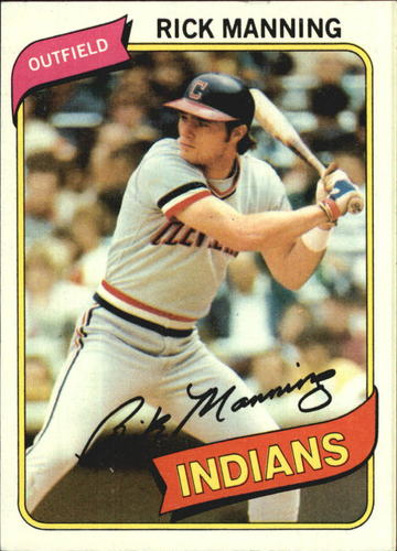 Photo of 1980 Topps #564 Rick Manning
