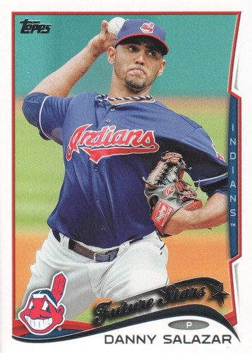 Photo of 2014 Topps #530 Danny Salazar
