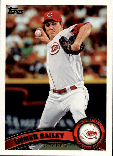 Photo of 2011 Topps #508 Homer Bailey
