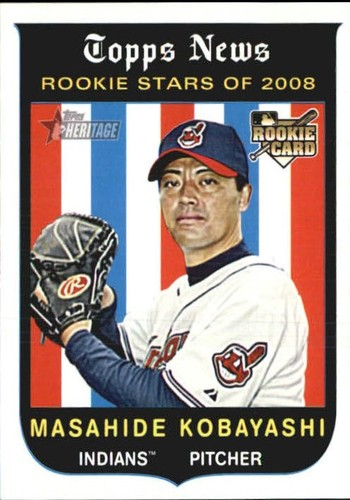 Photo of 2008 Topps Heritage #645 Masahide Kobayashi RC